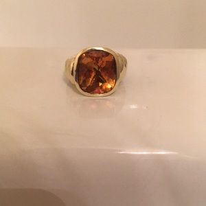 David Yurman 14K Gold Ring